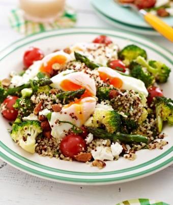Simple vegetarian egg salad recipe