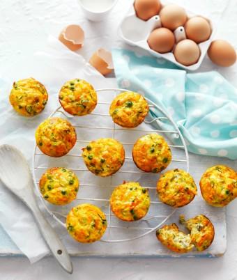 Egg and Vegie Frittata Muffins