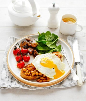 Healthy Egg Vegie Breakfast