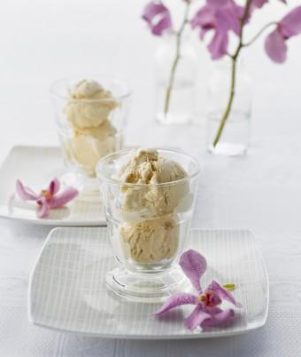 White Chocolate Chai Ice Cream