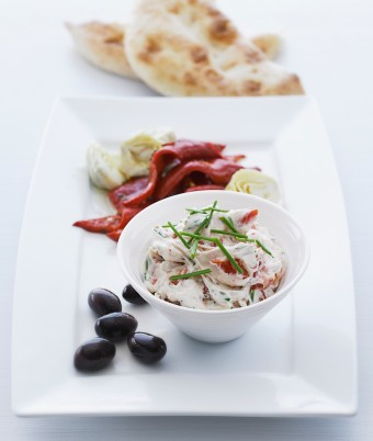 Light and Creamy Sundried Tomato Dip
