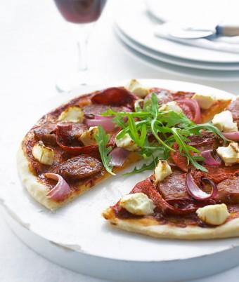 Spanish Style Chorizo Pizza