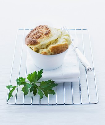 Baked Herbed Ricotta Souffles