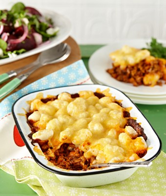 Cottage Pie with Gnocchi