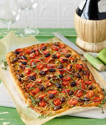 Pissaladiere with Anchovies