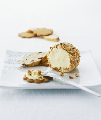 White Chocolate and Hazelnut Ball