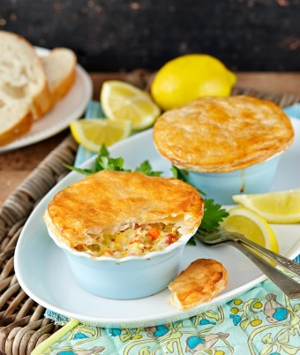 Individual Seafood Pies