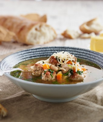 Italian Meatball Soup Recipe