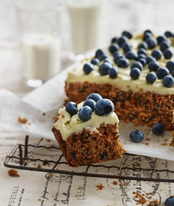 Carrot Cake Slice with PHILLY Frosting