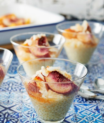PHILLY Coconut Tapioca with Mixed Stone Fruit