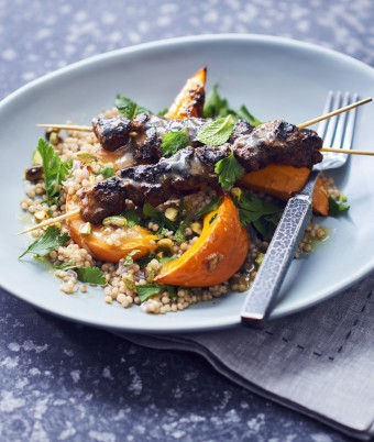 Roasted Lamb Pumpkin and Couscous Salad