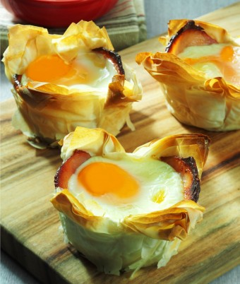 Bacon and Egg Pies Recipe