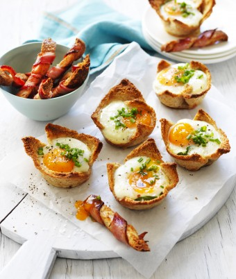 Egg and Bacon Breakfast recipe