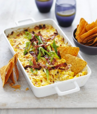 Hot Cheese Corn Dip