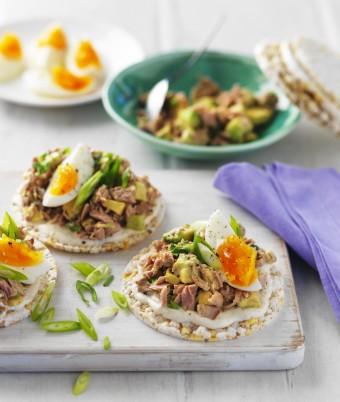 Tuna Avocado and Egg Salad