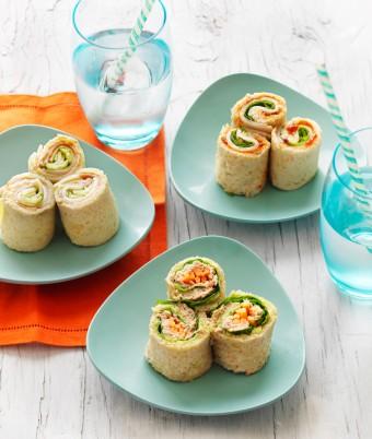 Easy Bread Sushi Rolls