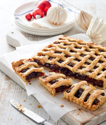 Traditional fruit mince pie recipe