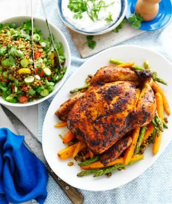 Harissa Roast Chicken Recipe