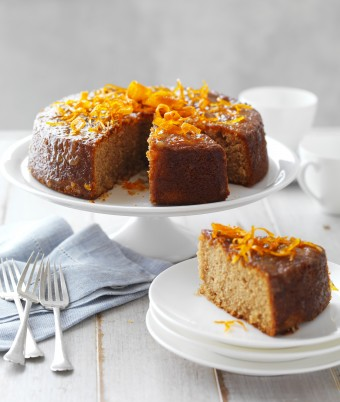 Marmalade and Almond Tea Cake