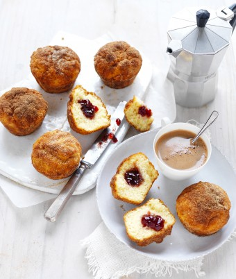 IXL Jam Doughnut Muffins
