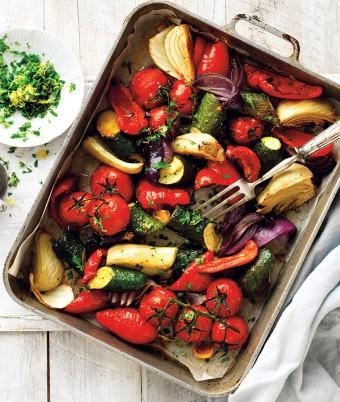 Italian Style Roasted Vegetables recipe