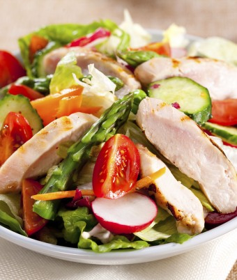 Sweet Chilli Chicken Salad Recipe