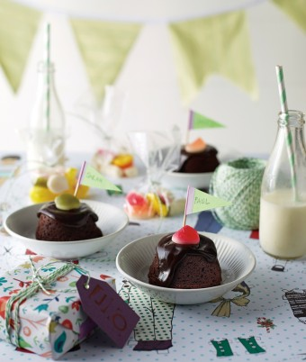 Mini Chocolate Mudcakes