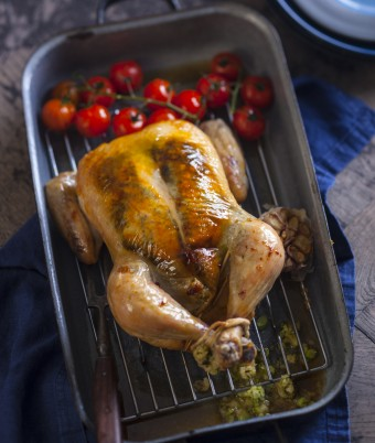 Basil Roast Chicken