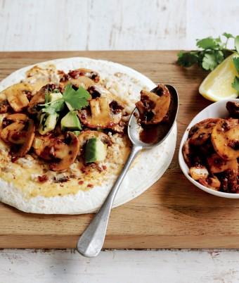 Mexican Mushroom Fajitas recipe