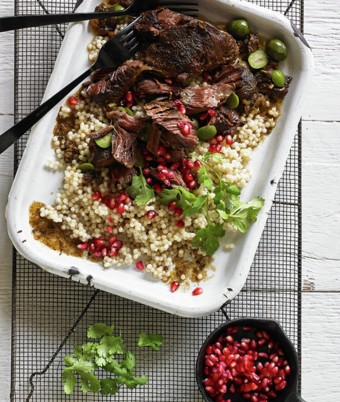 Moroccan Inspired Beef Cheeks with Preserved Lemon Yoghurt recipe