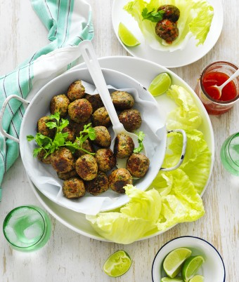 Easy blended mushroom meatballsrecipe