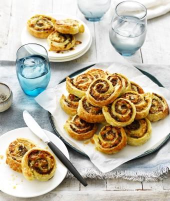 Mushroom and Pork Pinwheels Recipe