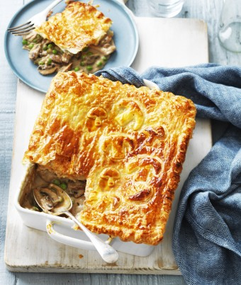 Chicken and Mushroom Pie recipe