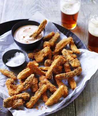 Portobello mushroom fries recipe
