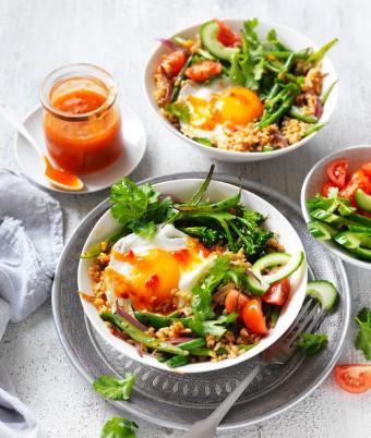 Quick Vegetarian Nasi Goreng Fried Rice