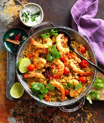 One-pan Prawn Coconut Curry Recipe