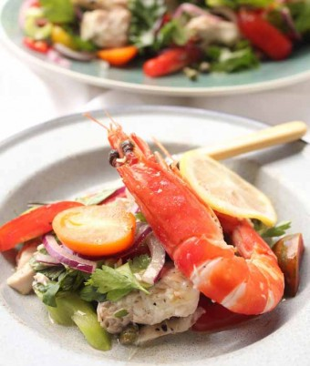 Catalina Poached Fish Salad