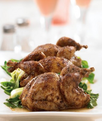Roasted Five Spice Quail recipe