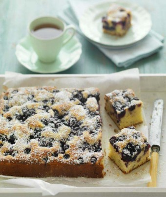 Blueberry & Walnut Teacake
