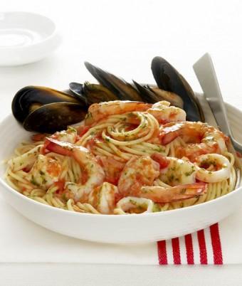Spaghetti Marinara with Italian Herbs and Garlic