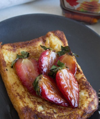 French Toast Recipe: Coconut brioche
