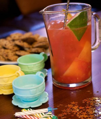 The Fanfare kids party drinks