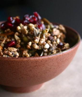 bLANk's Buckwheat Super food Granola