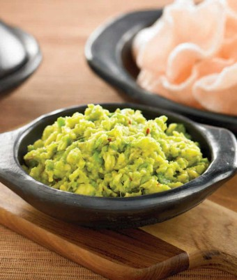 Soy and Avocado Guacamole