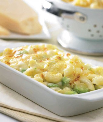 Avocado and Macaroni and Cheese (or Pasta Bake)
