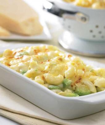Avocado and Macaroni and Cheese (or Pasta Bake)
