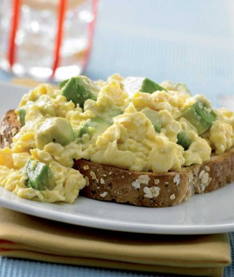 Avocado Scrambled Eggs