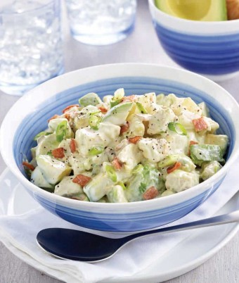 Avocado Chicken and Egg Salad