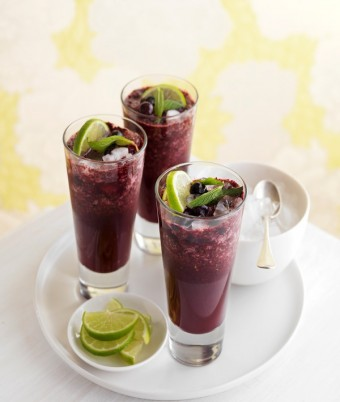 Blueberry, Cranberry & Mint Crush