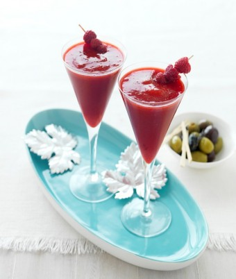 Frozen Raspberry Daiquiris recipes using berries